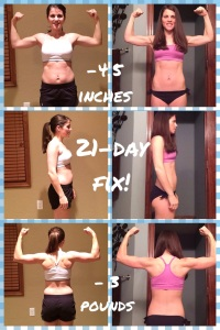 Maegan Blinka, January Beachboy promotions, 21 day fix results, home fitness workout program, portion controlled eating program, results from home DVD workout