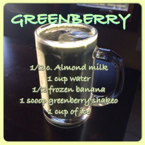 Greenberry, Shakeology, healthy meal, healthiest meal of the day, green smoothie, clean eating, banana smoothie, breakfast, meal replacement, piyo, 21-day fix, beachbody