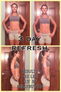 3 Day Refresh, Refresh, Beachbody Refresh, Piyo, 3 Day Refresh results, weight loss, cleanse, shakeology