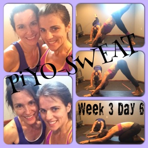 PIYO, PIYO PROGRESS, PIYO SWEAT, SWEAT WORKOUT, FIT MOM, FITNESS, HEALTHY MOM, MULTIGENERATION WORKOUT, HEALTHY FAMILY, MOTHER DAUGHTER, MOTHER DAUGHTER WORKOUTS, STRETCH, ADDICTED TO YOGA, ADDICTED TO SWEAT