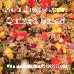 clean eating, quinoa salad, southwestern quinoa, mexican black bean quinoa, 21-day fix, healthy eating, healthy side, picnic dish, party dish, entertaining food, 21-day fix, piyo