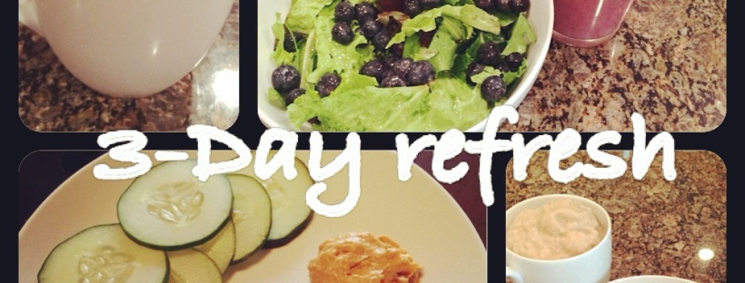 3 day refresh, beachbody refresh, cleanse with food