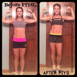 PIYO beginning to end, PIYO Program results, PIYO complete