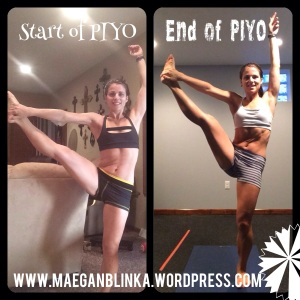 PIYO before and after, PIYO results, PIYO flexibility