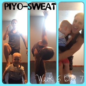 PIYO Sweat, PIYO progress, Family workout, fitmom