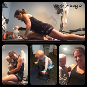 PIYO, PIYO progress, PIYO Week 7, yoga, pilates, strength training, fitmom, workout buddy, be an example