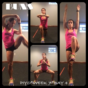 PIYO Week 7 Day 4, PIYO, PIYO progress, PIYO Week 7, yoga, pilates, strength training