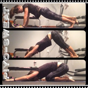 PIYO Week 8, PIYO Progress, PIYO sweat