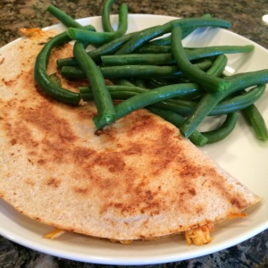 Buffalo chicken quesadilla, piyo meal plan, clean eating