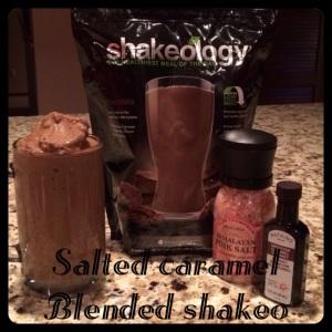sea salt chocolate shakeology, sweet treat, starbucks at home, starbucks alternative
