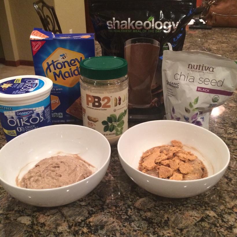 dessert, guilt free dessert, shakeology pudding