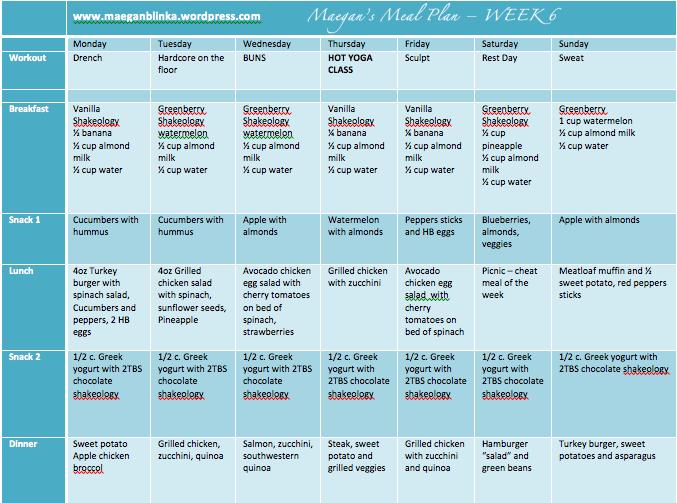 Week Printable Workout Calendar/page/2 | Search Results | Calendar ...