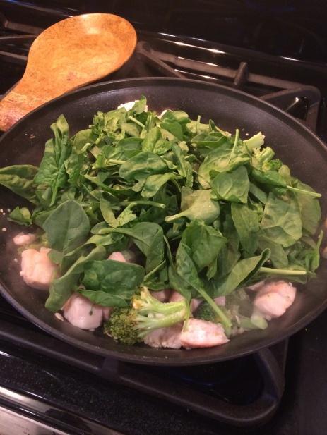 chicken and veggie pasta 3