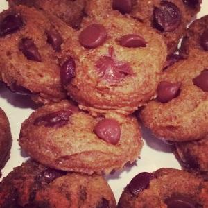 Pumpkin choc chip cookies_baked