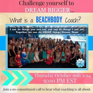 what is a beachbody coach, what does a beachbody coach do, coaches change lives, work from home career, make money from home, turn your passion for fitness into a career, Maegan Blinka, no obligation call