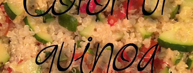 Colorful quinoa, veggie quinoa salad, meal prep, weeknight dinner, meal planning, Maegan Blinka, challenge group, Accountability group,