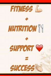 fitness support nutrition success