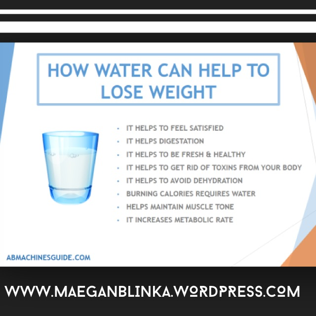 drinking water after meal weight loss