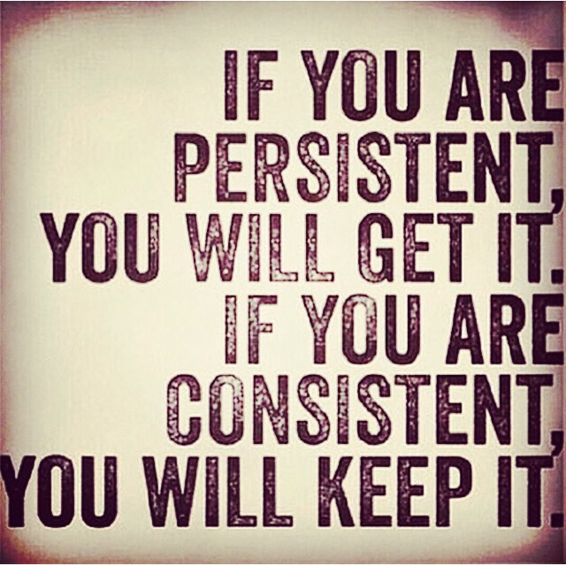 motivational quote, inspiration, exercise quote, never give up, consistency, positive quote, Maegan Blinka, T25 success story