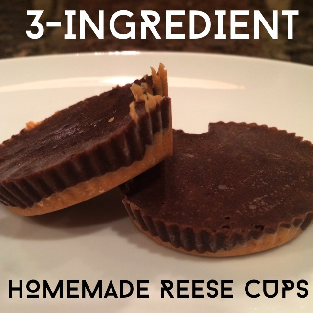 homemade reese cups, healthy dessert, chocolate and peanut butter, shakeology recipe, chocolate dessert, shakeology, Maegan Blinka