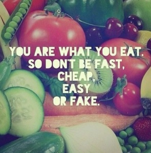 you are what you eat, clean eating, eat clean