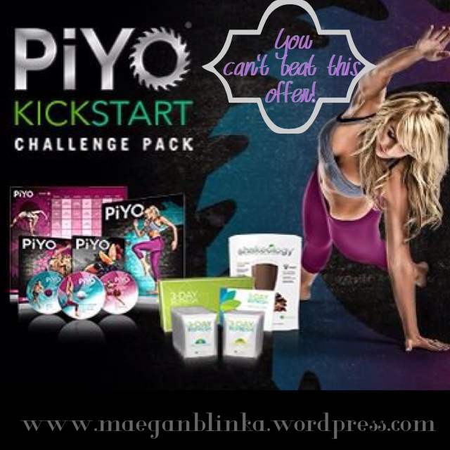 November beachbody promotion, piyo and 3 day refresh kickstart challenge pack, challenge group, clean eating support group, Maegan Blinka