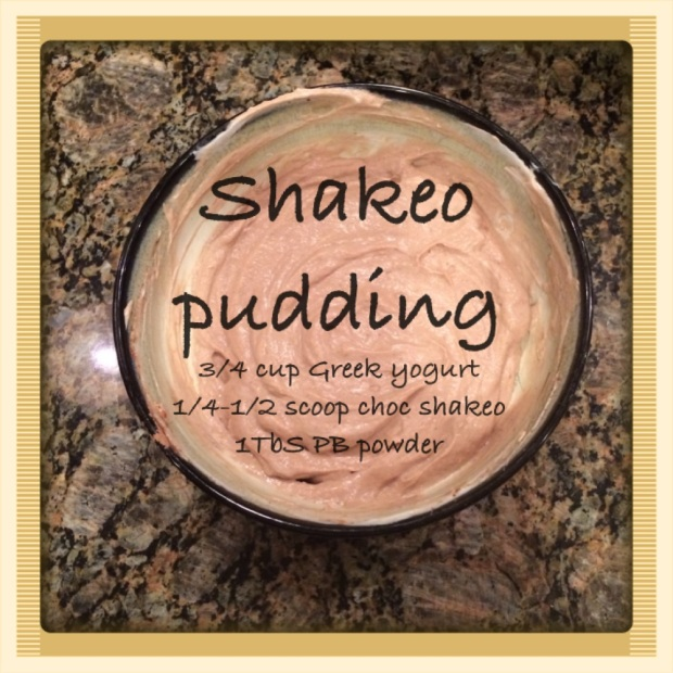 Maegan Blinka, healthy snack, high protein snack, shakeology, shakeology dessert, shakeology pudding, chocolate shakeology recipes, shakeology recipe, clean eating, healthy eating, 21 day fix approved, 21 day fix meal plan