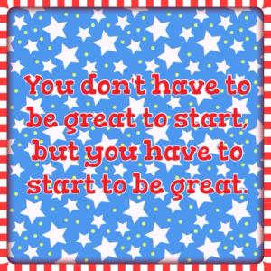 You don't have to be great to start but you have to start to be great Maegan Blinka, Countdown to summer, Beachbodys Military discount program, benefits of beachbody coaching for military members, Why buy a challenge pack, Memorial Day weekend, Support group, accountability group, What does the 21 day fix challenge pack include, what can you expect with a 21 day fix challenge group or accountability group, what is the key to weightloss success