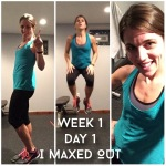 Maegan Blinka, Insanity Max 30, Insanity Max 30 meal plan, Insanity Max 30 test group, Insanity Max 30 accountability group, Cardio Challenge, Tabata Power, Sweat Intervals, Fitness Motivation, Friday Fight, Pulse, Insanity Max 30 week 1 recap, Insanity Max 30 week 2 meal plan, Is Insanity Max 30 hard?