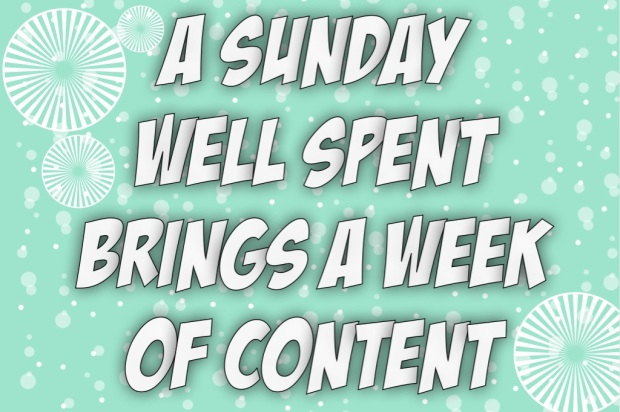 A sunday well spent brings a week of content, Maegan Blinka, Insanity Max 30 prep