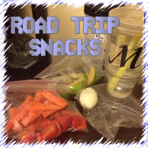 ROAD TRIP SNACKS!