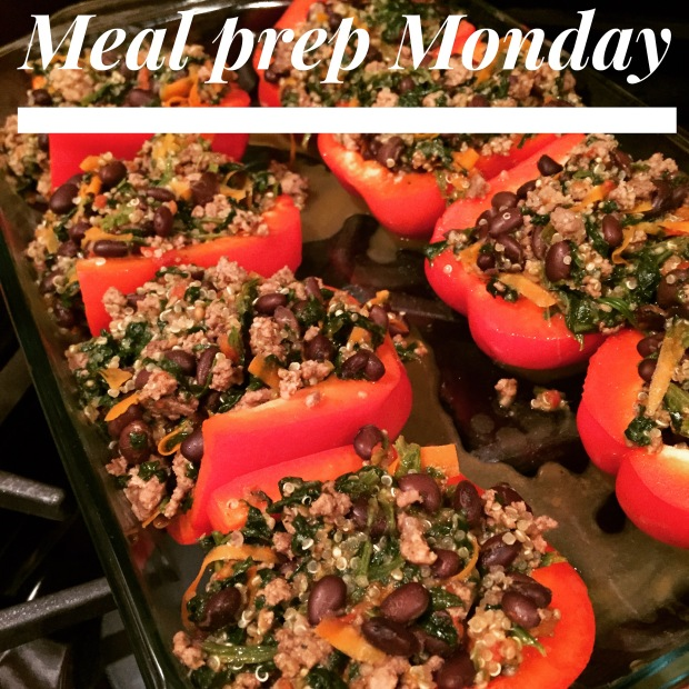 insanity max 30 week 6 - meal prep monday peppers