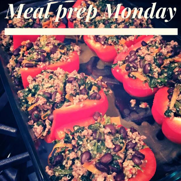 Stuffed Peppers, healthy stuffed peppers, quinoa stuffed peppers, 21 day fix approved stuffed peppers, insanity max 30 stuffed peppers, clean eating stuffed peppers, eat clean,