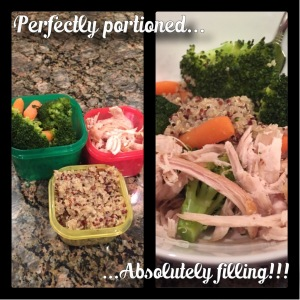 Maegan Blinka, Insanity Max 30 Graduate, Insanity Max 30 Results, Friday Fight Round 2, portioned nutrition guide, 21 day fix approved dinner