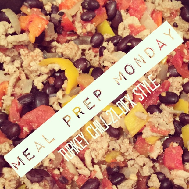 Turkey Chili, Healthy Chili, Freezer friendly meal, 21 day fix chili, 21 day fix extreme chili, new 21 day fix extreme recipe ideas, Easy Dinner Idea, Easy week night dinner