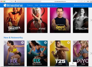 Beachbody on demand programs