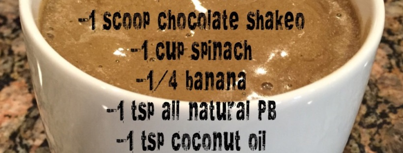 Maegan Blinka, Candy Bar Shakeology, Chocolate Shakeology Recipes, Chocolate Protein shakes, New recipe, Meal replacement shakes, Chocolate Almond Coconut Peanut Butter Shake,