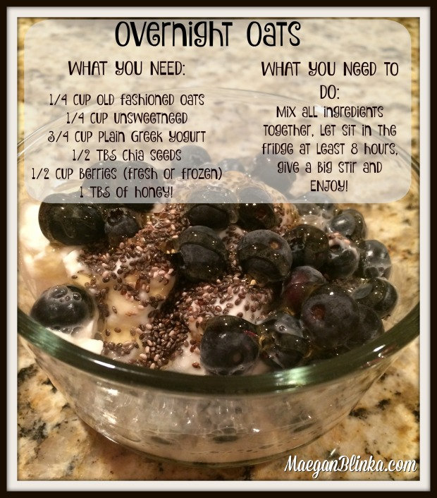 Greek yogurt overnight oats with recipe and web address