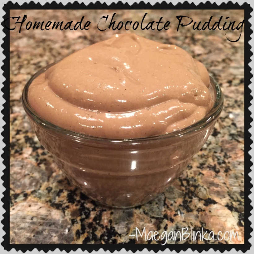 Homemade Chocolate pudding, chocolate pudding made with avocado, tastes like chocolate mousse, Chocolate shakeology dessert, Maegan Blinka, Avocado pudding, dessert made with avocado, sweet treat, clean chocolate pudding, easy 4 ingredient chocolate pudding, 21 day fix approved chocolate pudding