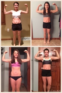 Maegan Blinka, 21 day fix results, 21 day fix extreme results, before pictures, does the 21 day fix extreme work, food is fuel, Results with the 21-day fix extreme