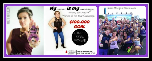 LLS Awareness, Katy Ursta, Dream Team, Forever Fit, Punch cancer in the face, LLS fundraiser, Pittsburgh Woman of the year, cancer research funding, Irwin PA Fit Club, North Huntingdon PA Fit Club, Try Shakeology