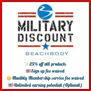 Military Discount, Maegan Blinka, Countdown to summer, Beachbodys Military discount program, benefits of beachbody coaching for military members, Why buy a challenge pack, Memorial Day weekend, Support group, accountability group, What does the 21 day fix challenge pack include, what can you expect with a 21 day fix challenge group or accountability group, what is the key to weightloss success