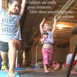 Children are really great imitators, give them something great to imitate, workout picture with children, kids working out, inspiration mom, inspirational mother daughter quotes, crossfire job opportunity, fitness career from home, flexible work schedule, health and fitness job opportunity, How much does it cost to sign up as a coach, How much time do you need to become a coach, How to Beachbody Coaches build a business, How to Beachbody coaches make an income, maegan blinka, Megan Blinka, sneak peek into beachbody coaching group, stay at home job opportunity, Work from home job opportunity