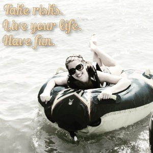 Fitness group photo shoot idea, Fitness inspiration, Maegan Blinka, Megan Blinka, Poconos golf course, Weekend getaway, Girls weekend trip, tubing, boating, take risks, live life to its fullest