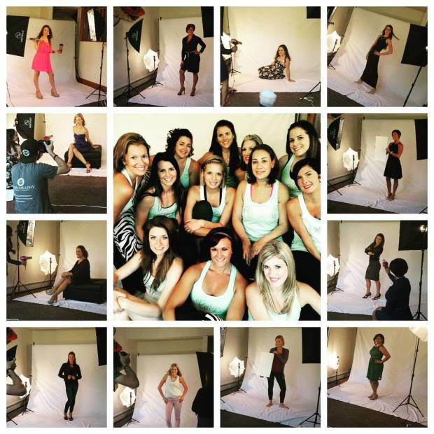 Fitness group photo shoot idea, Fitness inspiration, Maegan Blinka, Megan Blinka, Poconos golf course, Weekend getaway, Girls weekend trip,