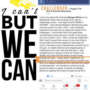 Challenger testimonial from current group, 21 day fix results, PIYO Day 1, Maegan Blinka, Megan Blinka, Piyo journey,  results with PIYO, High intense cardio program with low impact,