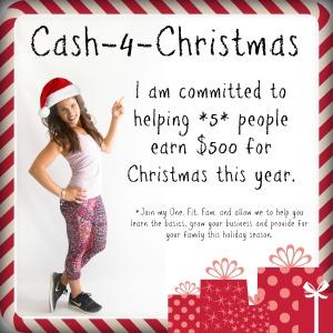 Cash for Christmas dark edges