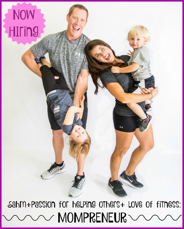 Now hiring mom preneur recruiting post