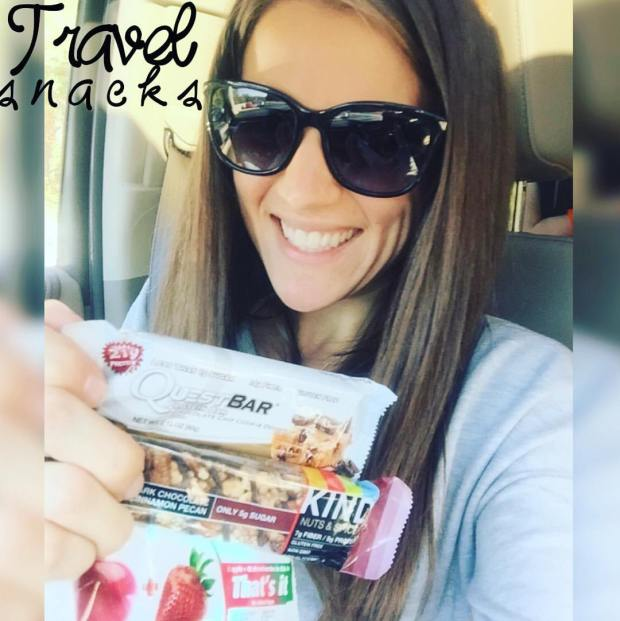 Travel snacks - bars on the 21 day fix