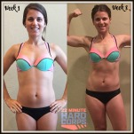 Maegan Blinka, Megan Blinka, 22 Minute Hard Corps, Bikini Bootcamp results, Tony Horton workout program, 22 Minute Hard Corps results, 8 week results,